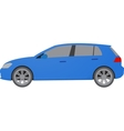 Car in flat style Vehicle icon vector image
