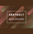 abstract background with colorful shape vector image vector image