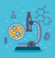 chemistry science poster icon vector image vector image