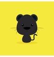 Cute Cartoon Wild puma vector image vector image