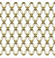 gold pattern background vector image vector image