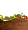 Happy Xmas Border vector image vector image