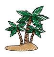 island icon image vector image vector image