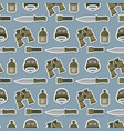 military modern camouflage helmet army protection vector image vector image