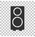 Speaker sign Dark gray icon on vector image vector image