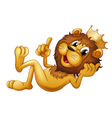 A king lion