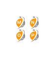 digital world and electrical connections set vector image vector image