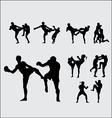 Muay Thai Thai Boxing 1 vector image vector image