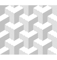 Seamless Geometric Pattern Halftone Background vector image