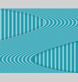 striped background with wavy stripe and shadow vector image vector image