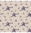 vintage seamless flower pattern gzhel vector image vector image