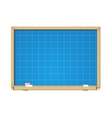 blueprint on school blackboard vector image vector image