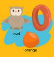 letter o child s alphabet graphics