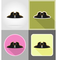 pirate flat icons 04 vector image vector image