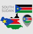 south sudan vector image