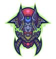 anubis tribal esport mascot logo vector image vector image