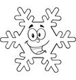 Cartoon snowflake