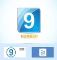 Number nine 9 logo