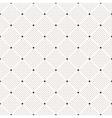 Seamless dots pattern Polka dot print vector image vector image