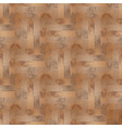 seamless pattern abstract wooden textured vector image