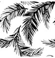 tropical jungle floral seamless pattern vector image vector image