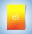 abstract geometric backgrounds 2 vector image