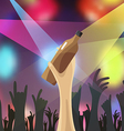 disco night party concert vector image