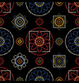 embroidery needlework vector image vector image