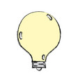 energy bulb to illuminate places vector image vector image