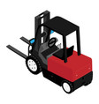 forklifts reliable heavy loader truck heavy duty vector image vector image