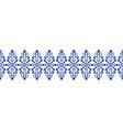 porcelain line design vector image