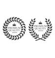 Premium Quality Label vector image vector image