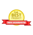 The best product icon cartoon style vector image vector image