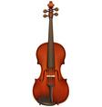 A violin vector image