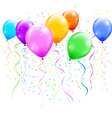Colorful balloons vector image