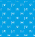 flag of columbus pattern seamless blue vector image vector image