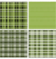 Green patches vector image