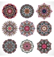 Mandala Vintage decorative elements Hand drawn vector image vector image