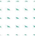 plane landing icon pattern seamless white vector image vector image