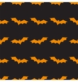 Seamless background with bats vector image vector image