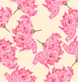 Seamless texture Sakura blossom polygons vector image vector image