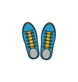 sneakers icon pixel perfect using for web design vector image vector image
