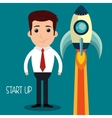 startup of growth design vector image