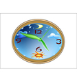 Watch for a childs room vector image vector image