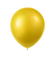 3d realistic colorful balloon holiday flying vector image vector image