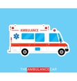 Ambulance bus isolated vector image