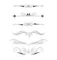 Decorative elements for design vector image
