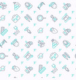 heart attack seamless pattern vector image