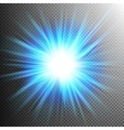 Light Effect Transparent Flare Lights EPS 10 vector image