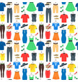 man and woman clothes background pattern vector image vector image
